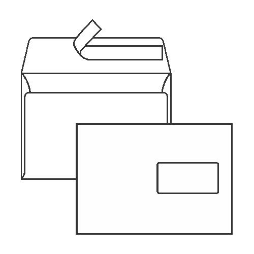 Koverta C5 - bijela   Nova Kuverta