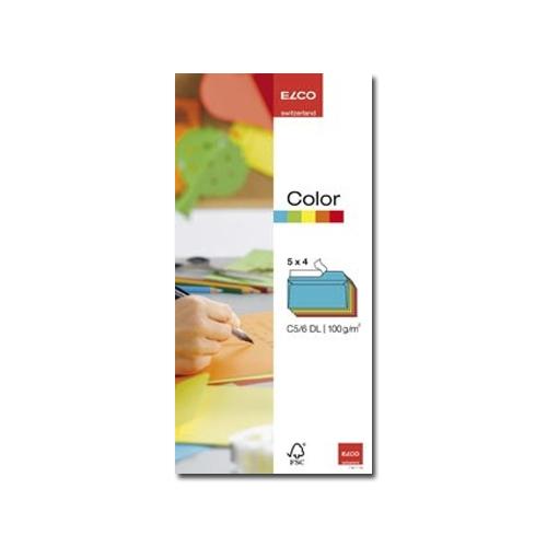 Koverta C5 color pak | Elco